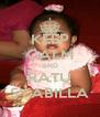 KEEP CALM AND RATU SYABILLA - Personalised Poster A4 size