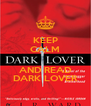 KEEP CALM  AND READ DARK LOVER - Personalised Poster A4 size