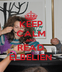 KEEP CALM AND READ ELBELIEN - Personalised Poster A4 size