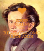 KEEP CALM AND READ GIACOMO LEOPARDI - Personalised Poster A4 size