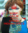 KEEP CALM AND READ GOOD INDIAN GIRLS - Personalised Poster A4 size