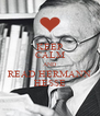 KEEP CALM AND READ HERMANN HESSE - Personalised Poster A4 size