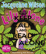KEEP CALM AND READ LILY ALONE - Personalised Poster A4 size
