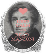 KEEP CALM AND READ  MANZONI - Personalised Poster A4 size