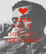 KEEP CALM AND READ NELSON RODRIGUES - Personalised Poster A4 size