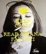 KEEP CALM AND READ ORIANA FALLACI - Personalised Poster A4 size