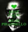 KEEP CALM AND READ PIRANDELLO - Personalised Poster A4 size