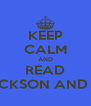 KEEP CALM AND READ READ PERCY JACKSON AND THE OLYMPIANS - Personalised Poster A4 size