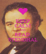 KEEP CALM AND READ  STENDHAL - Personalised Poster A4 size
