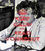 KEEP CALM AND READ VONNEGUT - Personalised Poster A4 size