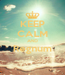 KEEP CALM AND Regnum  - Personalised Poster A4 size