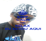 KEEP CALM AND RELAX EU ESTOU AQUI - Personalised Poster A4 size