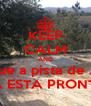 KEEP CALM AND Relax que a pista de Aboim   JA ESTA PRONTA - Personalised Poster A4 size