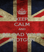 KEEP CALM AND RELOAD YOUR SHOTGUN - Personalised Poster A4 size