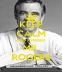 KEEP CALM AND REMBER MR. ROGERS - Personalised Poster A4 size