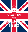 KEEP CALM AND REMEMBER 1690 - Personalised Poster A4 size