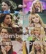 KEEP CALM AND remember forever hannah montana - Personalised Poster A4 size