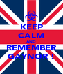 KEEP CALM AND REMEMBER GAYNOR ! - Personalised Poster A4 size