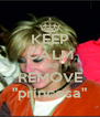 """KEEP CALM AND REMOVE """"princesa"""" - Personalised Poster A4 size"""