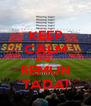 KEEP CALM AND... REMUN TADA! - Personalised Poster A4 size