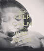 KEEP CALM AND REP GLVG - Personalised Poster A4 size