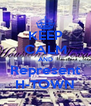 KEEP CALM AND Represent H-TOWN - Personalised Poster A4 size