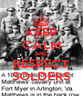 KEEP CALM AND RESPECT SOLDERS - Personalised Poster A4 size