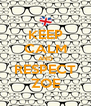 KEEP CALM AND RESPECT ZOE - Personalised Poster A4 size