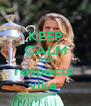 KEEP CALM AND respects  vika  - Personalised Poster A4 size