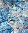 KEEP CALM AND  REST  - Personalised Poster A4 size