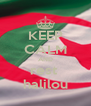 KEEP CALM AND rest  halilou - Personalised Poster A4 size