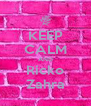 KEEP CALM AND Ricko Zahra - Personalised Poster A4 size
