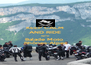 KEEP CALM AND RIDE WITH Balade Moto  Rhônes-Alpes - Personalised Poster A4 size