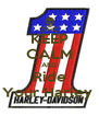 KEEP CALM AND Ride Your Harley  - Personalised Poster A4 size