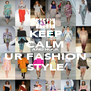 KEEP CALM AND ROCK UR FASHION STYLE - Personalised Poster A4 size