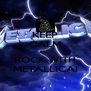 KEEP CALM AND ROCK WITH METALLICA! - Personalised Poster A4 size