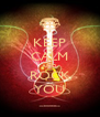 KEEP CALM AND ROCK YOU - Personalised Poster A4 size