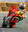 KEEP CALM AND roll in - Personalised Poster A4 size