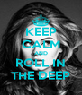 KEEP CALM AND ROLL IN THE DEEP - Personalised Poster A4 size