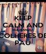 KEEP CALM AND ROUBANDO COLHERES DE PAU - Personalised Poster A4 size