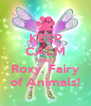 KEEP CALM AND Roxy, Fairy of Animals! - Personalised Poster A4 size