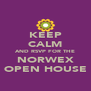 KEEP CALM AND RSVP FOR THE NORWEX OPEN HOUSE - Personalised Poster A4 size