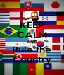 KEEP CALM AND Rule the Country - Personalised Poster A4 size