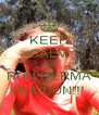 KEEP CALM AND RUN HERMA RUUUUN!!! - Personalised Poster A4 size