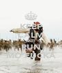 KEEP CALM AND RUN MO'FUCKA - Personalised Poster A4 size