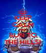 KEEP CALM AND RUN TO THE HILLS! - Personalised Poster A4 size