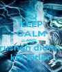 KEEP CALM AND rushen diditn  kill hitler - Personalised Poster A4 size