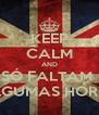 KEEP CALM AND SÓ FALTAM  ALGUMAS HORAS - Personalised Poster A4 size