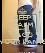 KEEP CALM AND SAGG YOUR PANTS - Personalised Poster A4 size