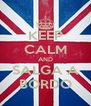 KEEP CALM AND SALGA A BORDO - Personalised Poster A4 size